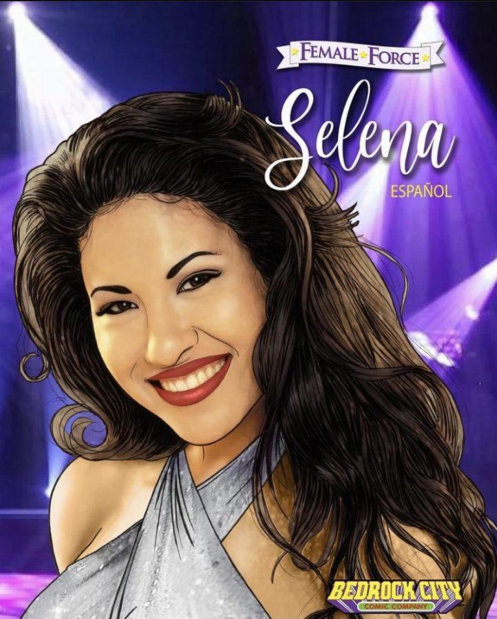 El+c%C3%B3mic+basado+en+la+vida+de+la+cantante+mexicana+Selena+Quintanilla+ser%C3%A1+publicado+el+11+de+agosto+por+TidalWave+Comics.