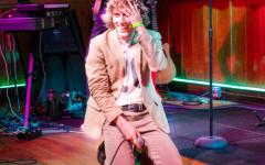 Zach Taylor, aka Dreamer Boy, at a Schubas Tavern show on Tuesday, Sept. 28.