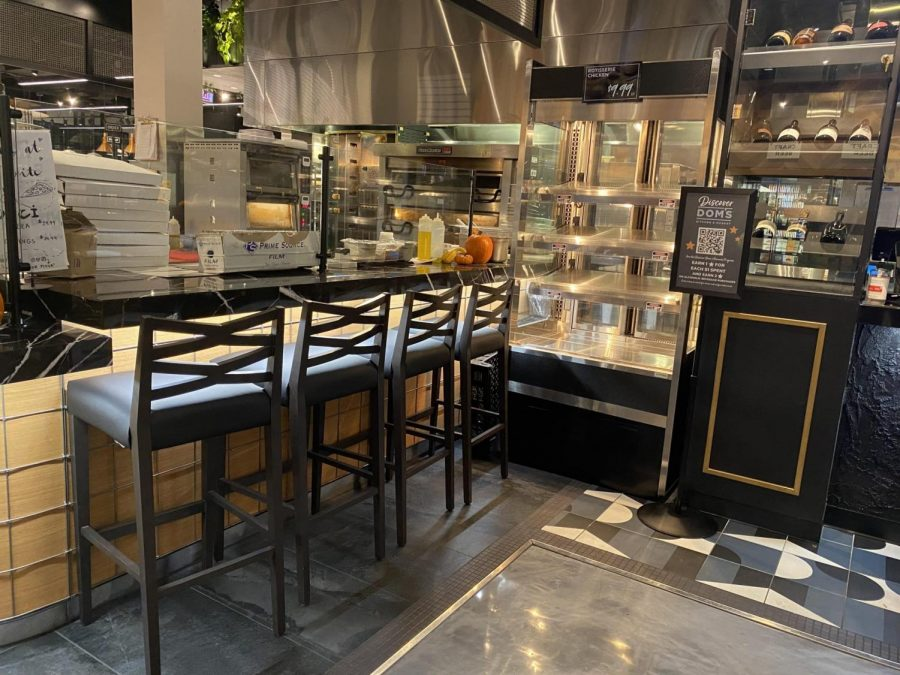 The+interior+of+Doms+Kitchen+and+Market.+