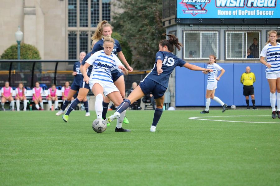Offense lacks drive for womens soccer in 1-0 loss to Xavier