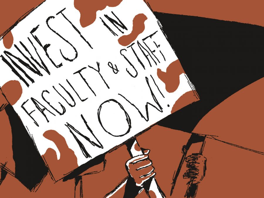OPINION: Invest in faculty and staff now