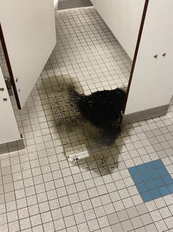 The mysterious sludge had a stench, according to Seton Hall residents. This sludge caused the second floor bathroom to shut down for 8 hours.